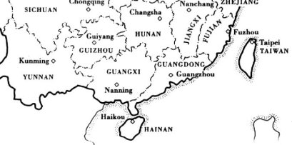 An Untapped Resource South China Degraded Land Issues - Map of us tropic of cancer
