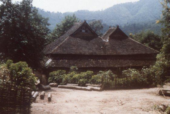 Dai viallage, Yunnan