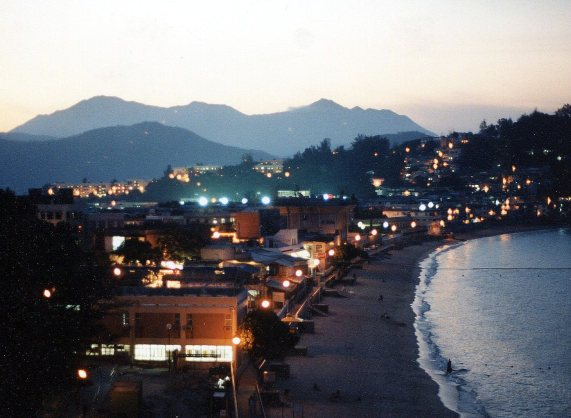 evening on Cheung Chau