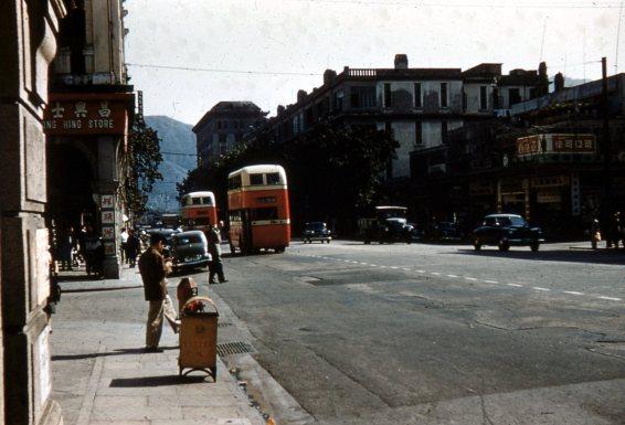 Nathan Road, Kowloon, Hong Kong 1955