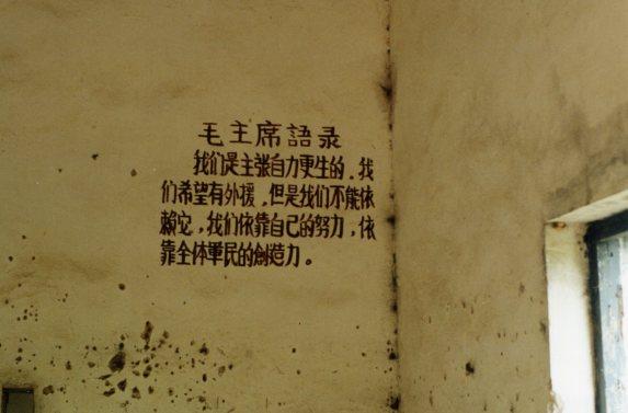 Mao saying on Dong 'Ao