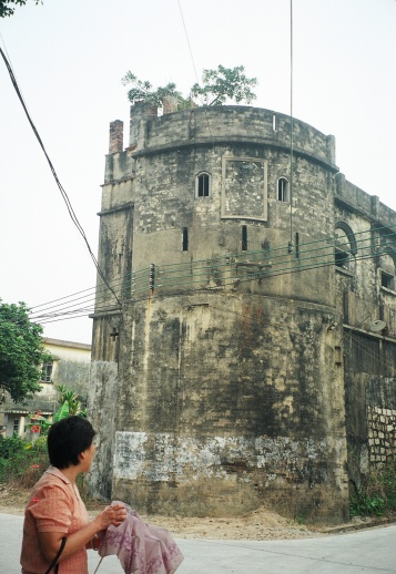 Diaolou, defensive tower, 1900-1931 construction